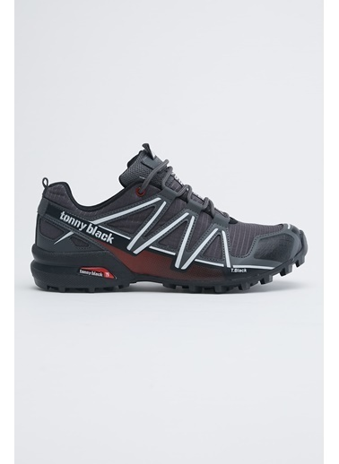Tonny Black Füme Beyaz Unısex Trekkıng Ayakkabı Tb160 Füme